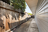 1187 Manzano Way, Sunnyvale 94089 - Sideyard Right