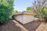 520 Rhodes Dr, Palo Alto 94303 - Side Back