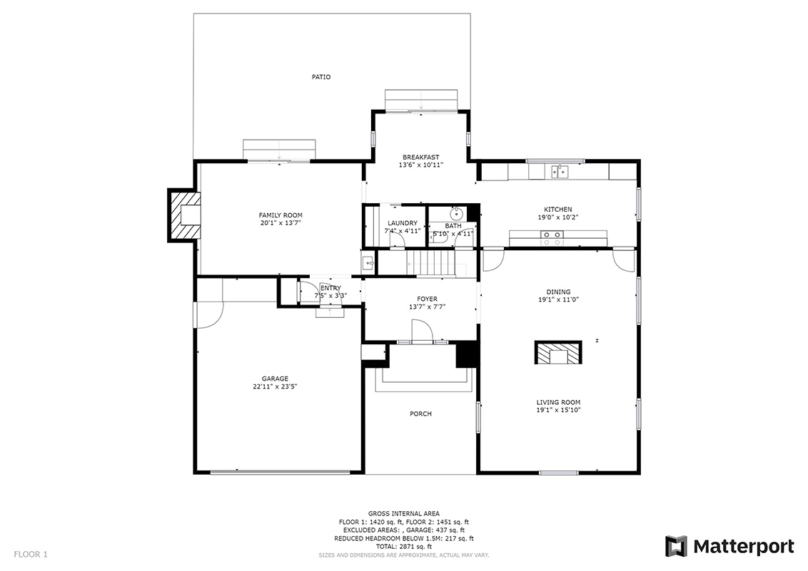 Floor Plan (A) - 112 Sleeper Ave