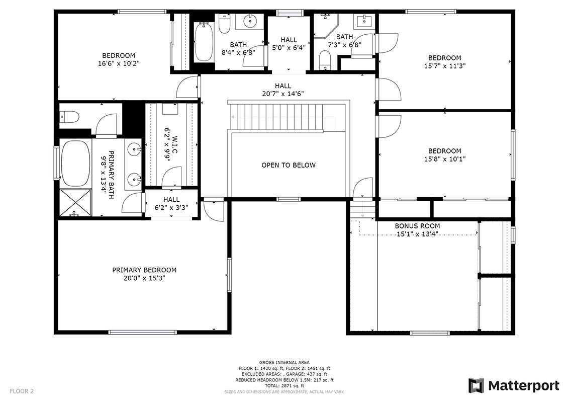 Floor Plan (B) - 112 Sleeper Ave