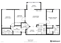 1122 Whipple Ave 14, Redwood City 94062 - Floor Plan