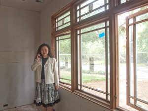 Building a new palo alto home for Drywall designs living room